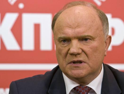 Šéf ruských komunistů definoval historický zdroj rusofobie